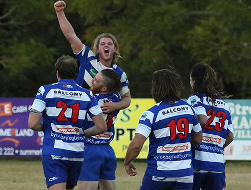 Byron Bay Rugby Club get season opener win away in Lismore on Wednesday night.